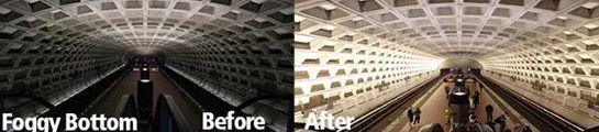 华盛顿15个地铁站照明升级为LED系统塑料机械